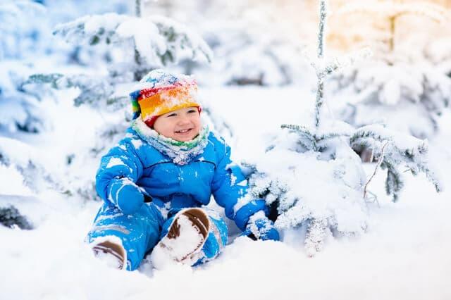 冬と夏の服装