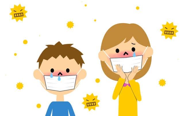 子どもの花粉症の特徴