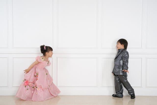 冠婚葬祭の子ども服