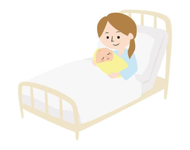 出産後の女性