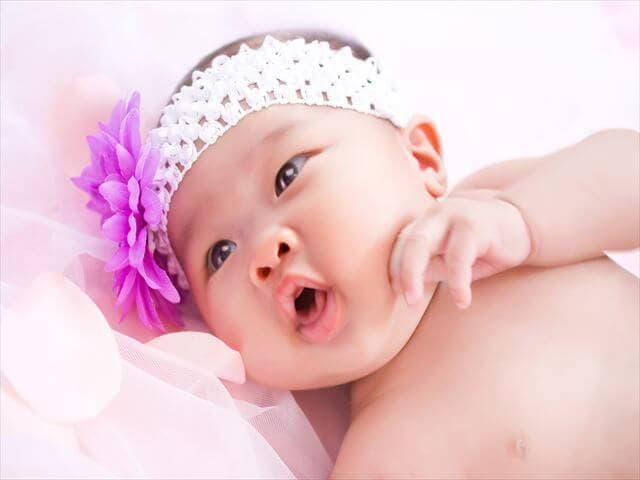 赤ちゃんの頭の形の予防
