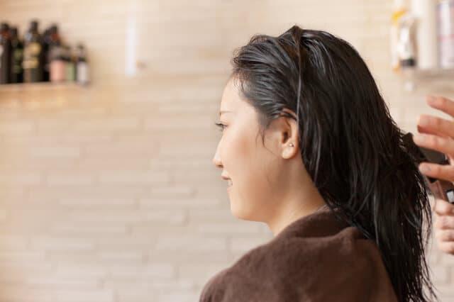 妊婦のヘアカット