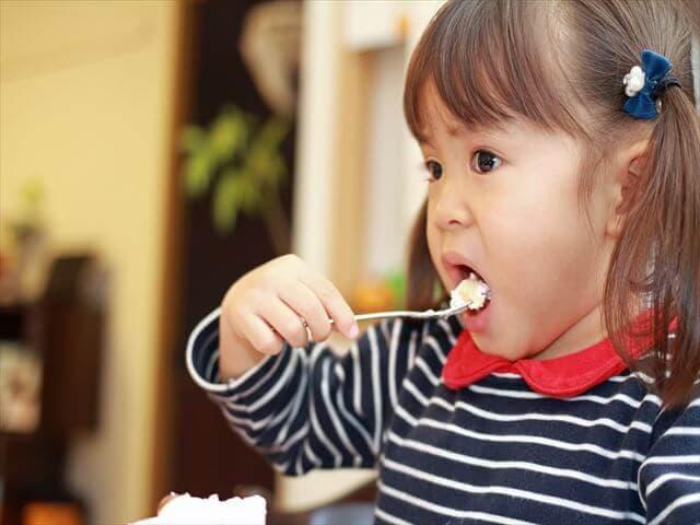 3歳の子どもの食事