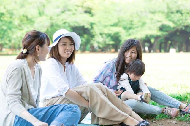ママ友とピクニック