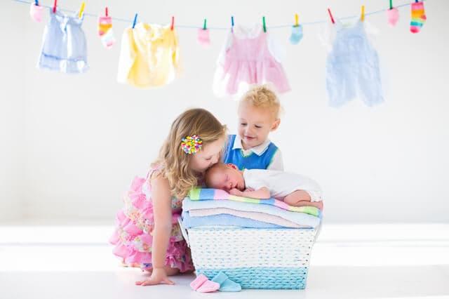 赤ちゃんのオーガニック洗剤