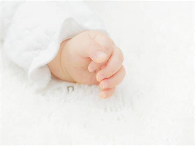 赤ちゃんの手が冷える理由