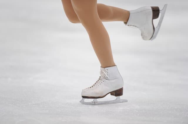 スケートの足