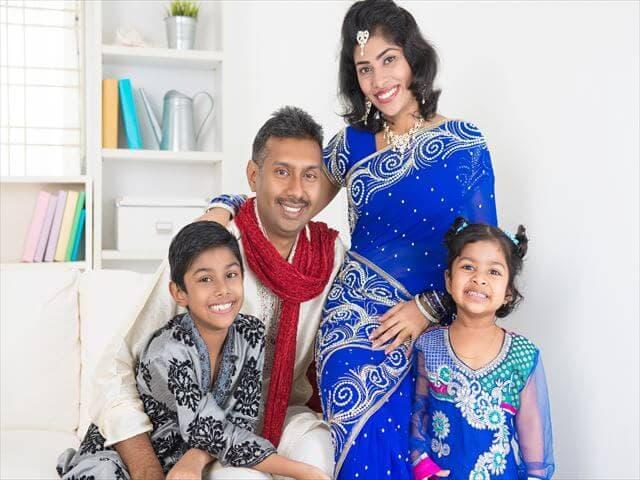 インドの家族