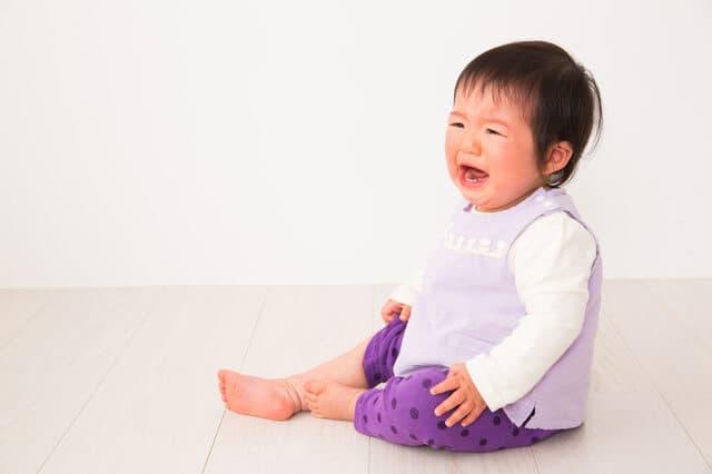 大泣き赤ちゃん