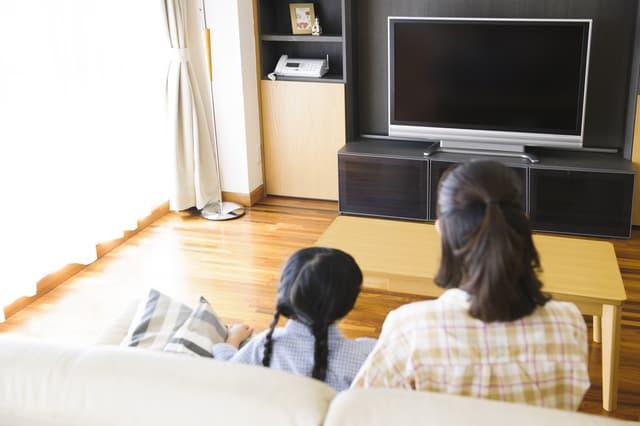親子でテレビ