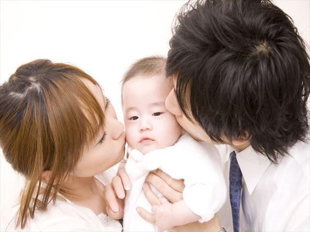 パパとママのキス