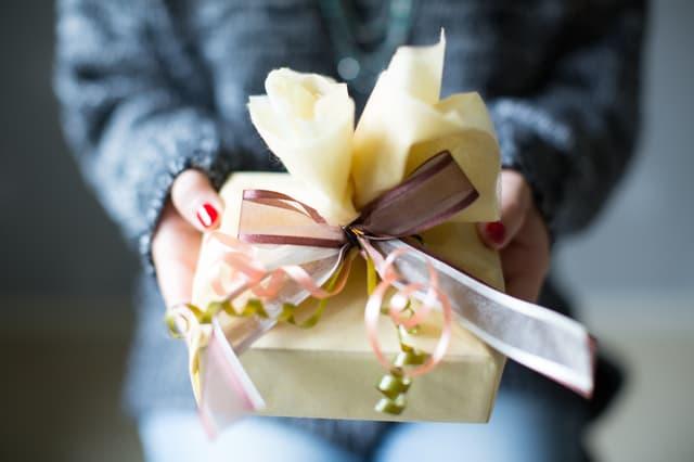 お祝いのプレゼント