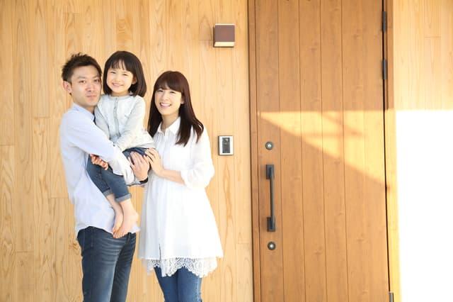 家を借りた家族