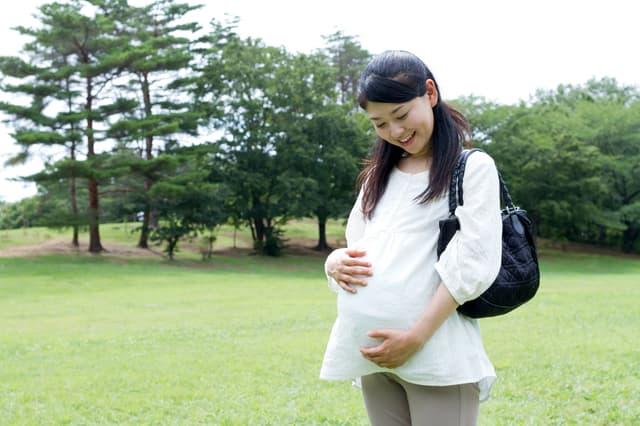 妊婦さんの外出