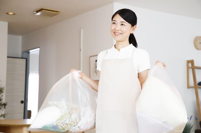 ゴミ袋の節約