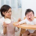 食後に「もっとごはん!」と号泣する赤ちゃん…あげてもいいの?どこから食べ過ぎ?