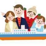 【ファミリークルーズ】庶民も手が届く時代に!家族で楽しめるの五つの魅力