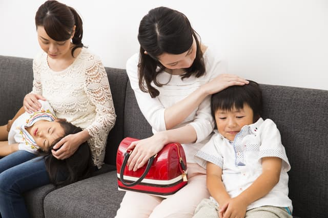 小児科の待合室
