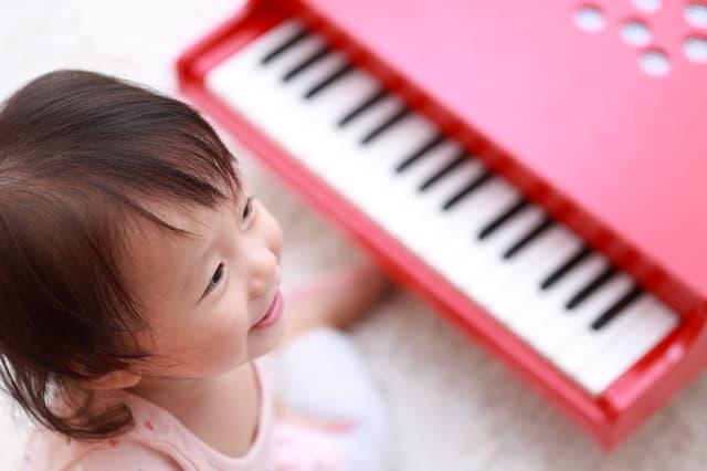 子どもの鍵盤