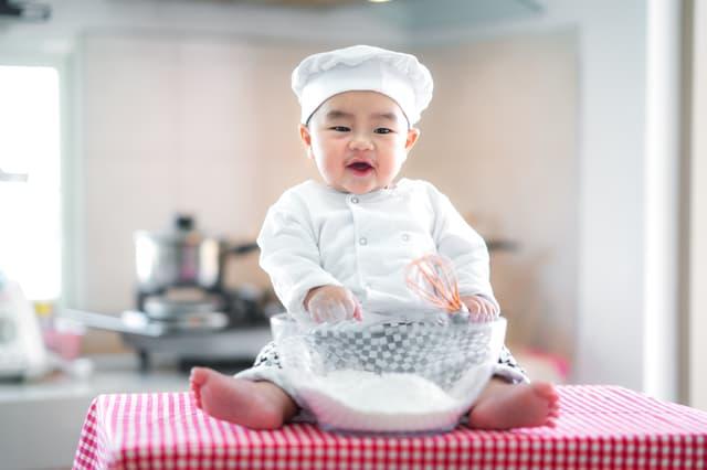 中国の赤ちゃん
