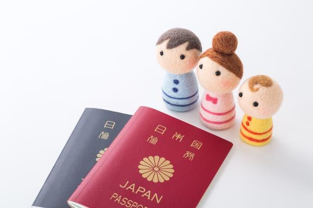 赤ちゃんのパスポート