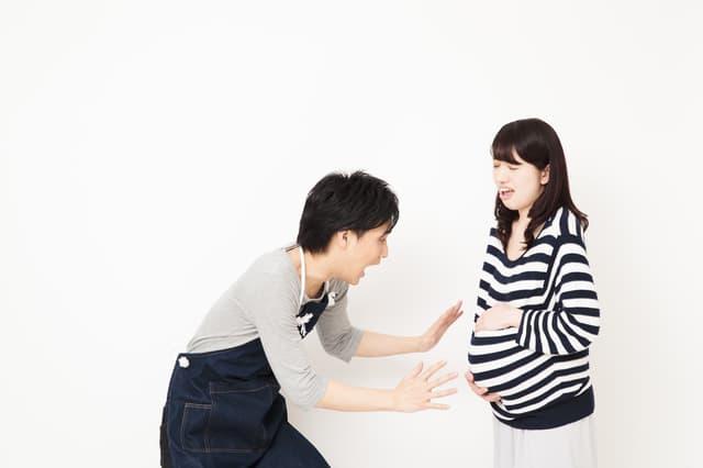 破水の妊婦