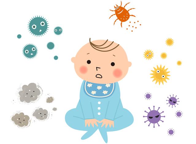 赤ちゃんのアレルゲン