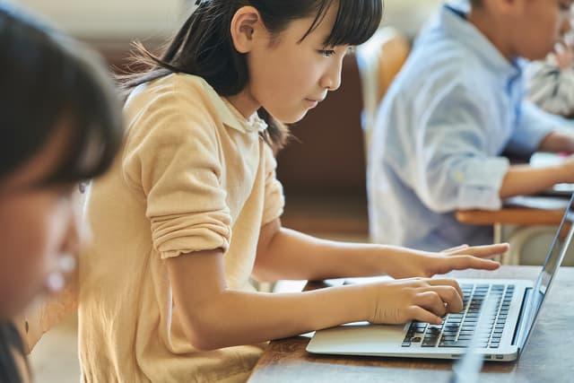 学校のパソコン授業