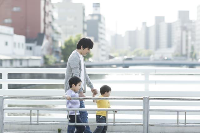 パパと歩く