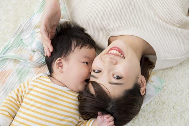 赤ちゃんのキス