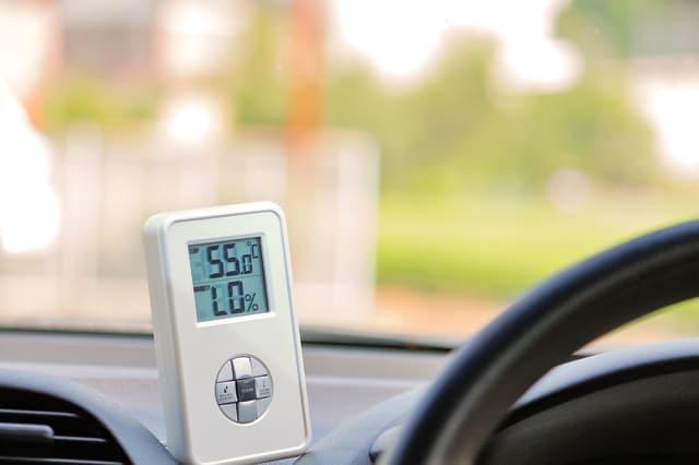 車内の温度