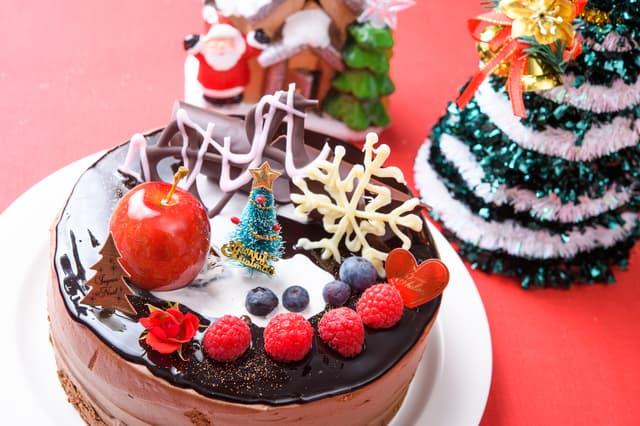 市販のクリスマスケーキ