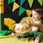 【スマッシュケーキ】1歳の誕生日は手づかみでお祝い!かわいくて安心なケーキ