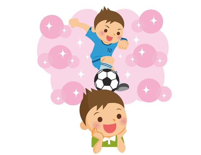 夢はサッカー選手