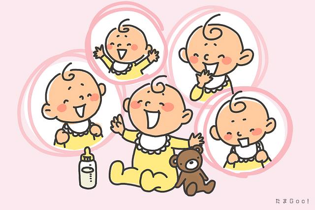 たくさん笑う赤ちゃん