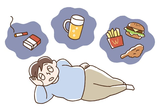 肥満の男性