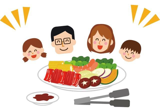 家族で焼肉