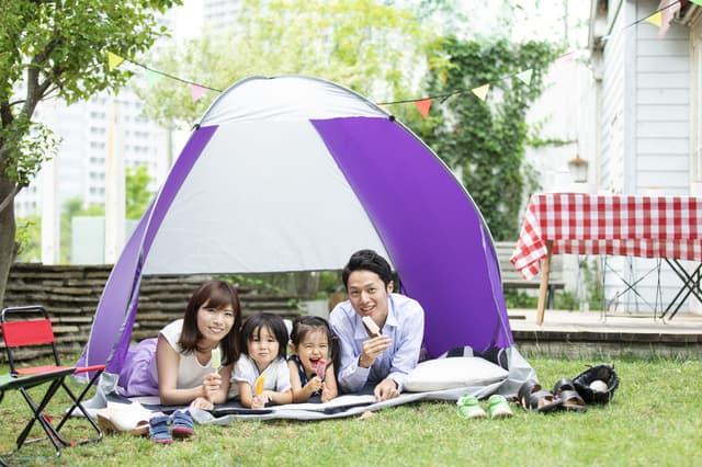子どもとキャンプ