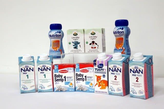 海外 液体ミルク 商品