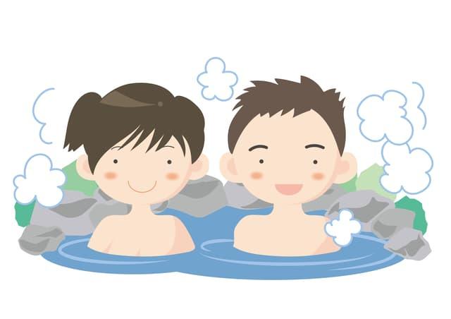 夫婦で入浴
