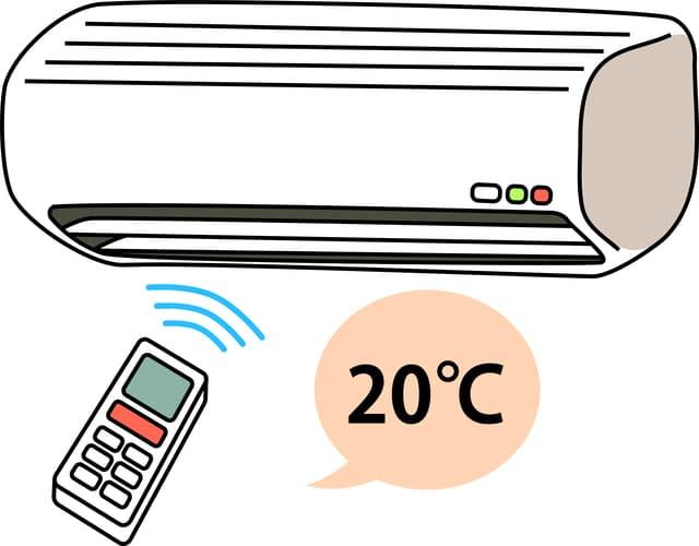 暖房の温度