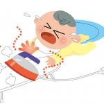家の中での赤ちゃんのやけどに注意!炊飯器、ケトル、コンロ・・・