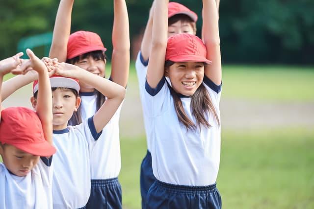 運動不足の子ども