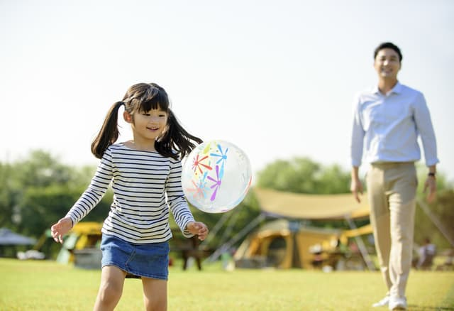 パパと公園