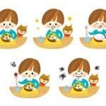 子どもの食べムラがひどい! 食事に集中させるには?