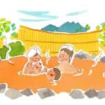赤ちゃんはいつから温泉に入れる?おむつがとれていなくてもOK?