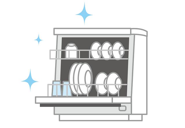 便利な食洗器