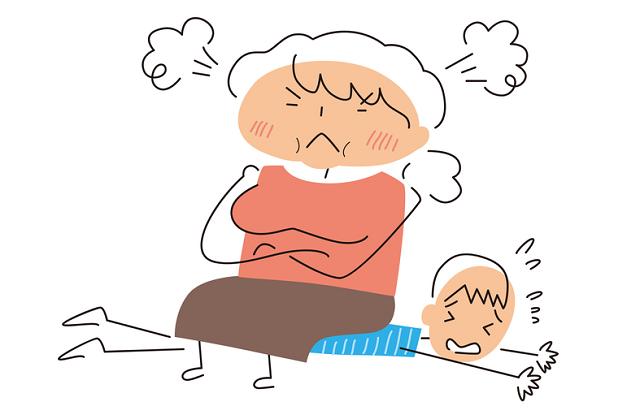 母が強い家庭