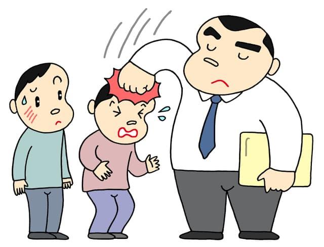 学校での体罰