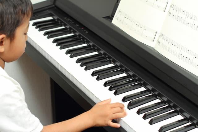 ピアノを頑張る